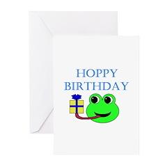 HOPPY BDAY Greeting Cards (Pk of 20)