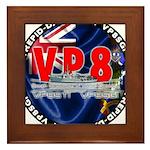 VP8_Logo2 Framed Tile
