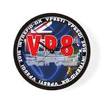 VP8_Logo2 Wall Clock