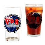 VP8_Logo2 Drinking Glass