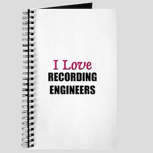 I Love RECORDING ENGINEERS Journal