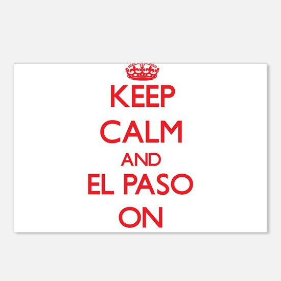 Keep Calm and El Paso ON Postcards (Package of 8)