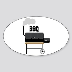BBQ Smoker Sticker
