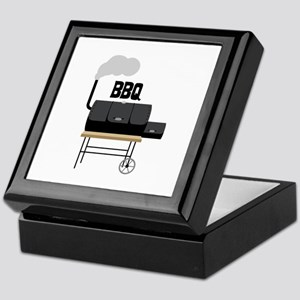 BBQ Smoker Keepsake Box