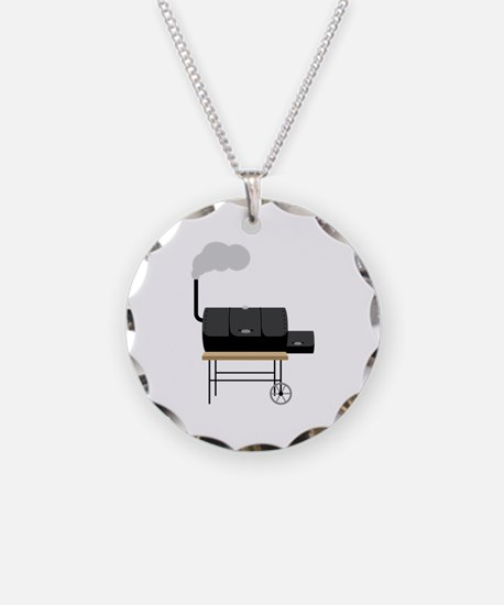 Barbeque Smoker Necklace