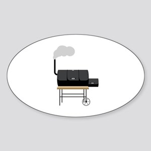 Barbeque Smoker Sticker