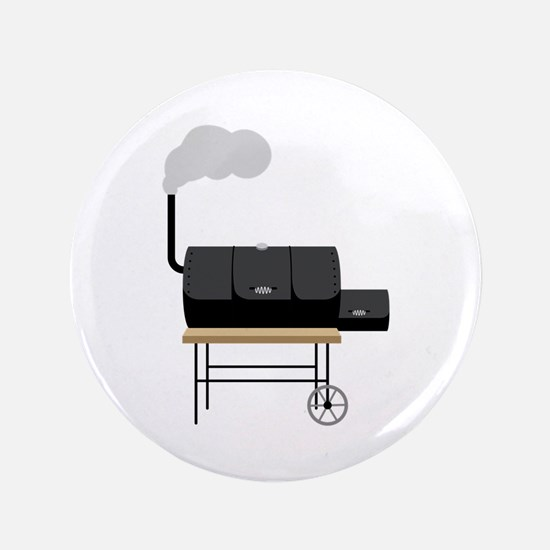 """Barbeque Smoker 3.5"""" Button (100 pack)"""