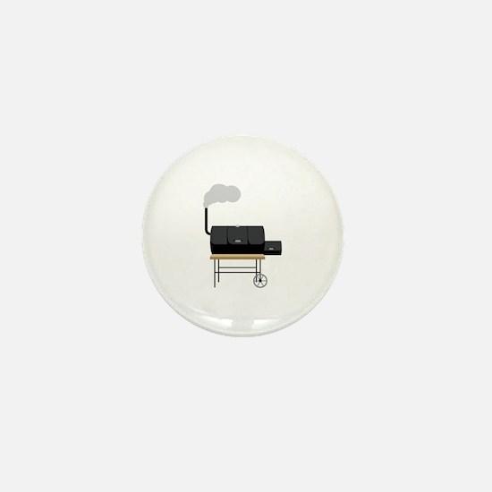 Barbeque Smoker Mini Button