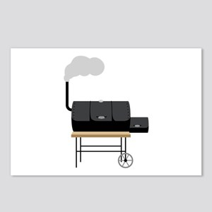 Barbeque Smoker Postcards (Package of 8)