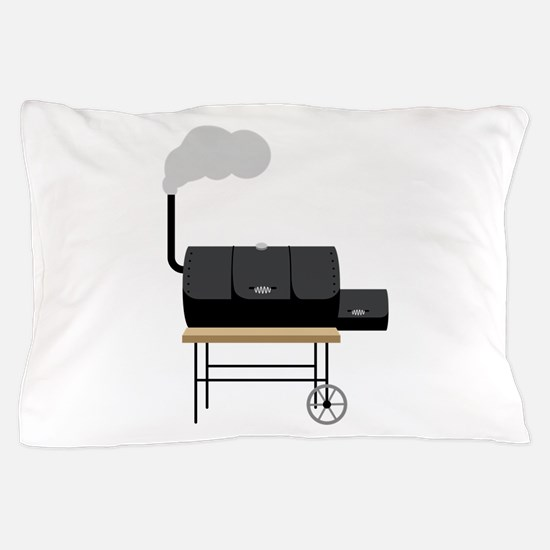 Barbeque Smoker Pillow Case