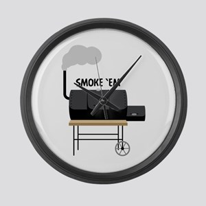 Smoke Em Large Wall Clock
