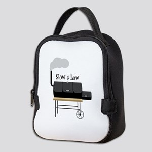 Slow & Low Neoprene Lunch Bag