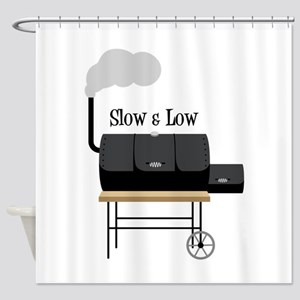 Slow & Low Shower Curtain