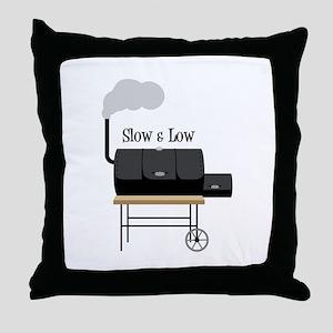 Slow & Low Throw Pillow