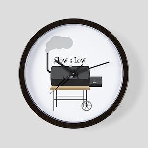 Slow & Low Wall Clock