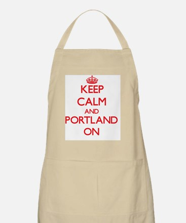 Keep Calm and Portland ON Apron