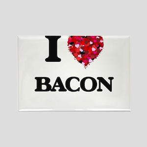 I Love Bacon Magnets