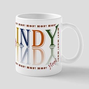 Lindy Hop! retro color Mugs