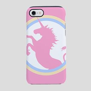 Pink Unicorn iPhone 8/7 Tough Case
