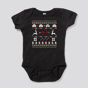 Nurse Ugly Christmas Sweater Body Suit