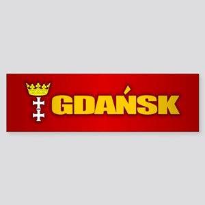 Gdansk Bumper Sticker