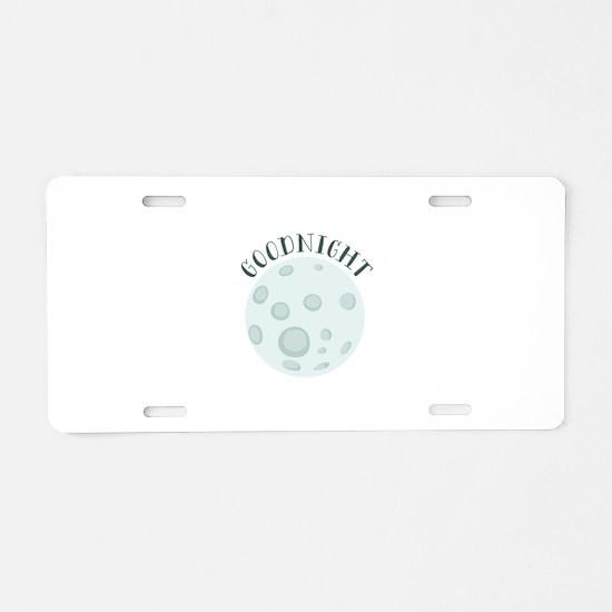 Goodnight Aluminum License Plate