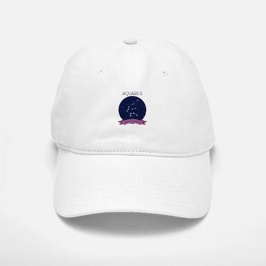 Aquarius Constellation Baseball Baseball Baseball Cap