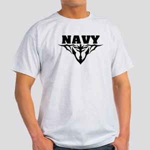 Navy Tribal Light T-Shirt