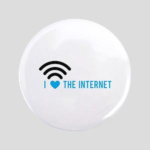 Love The Internet Button