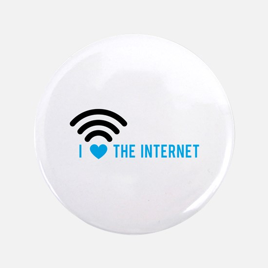 Love The Internet Button