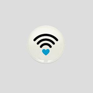 Wifi Heart Mini Button