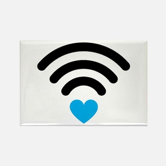 Wifi Heart Magnets