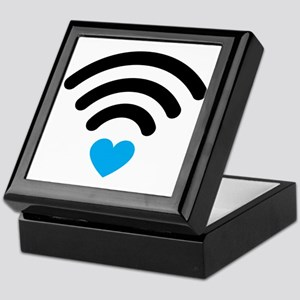 Wifi Heart Keepsake Box