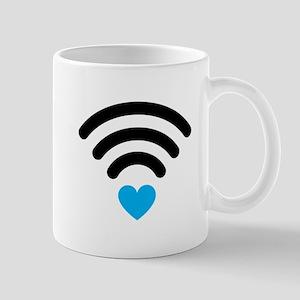 Wifi Heart Mugs
