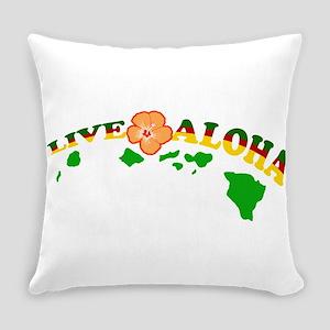 Live Aloha Everyday Pillow