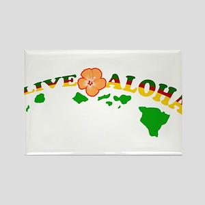 Live Aloha Magnets