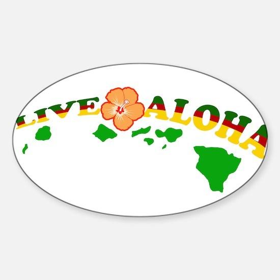 Live Aloha Decal