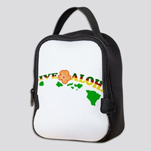 Live Aloha Neoprene Lunch Bag