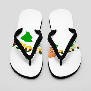 Live Aloha Flip Flops