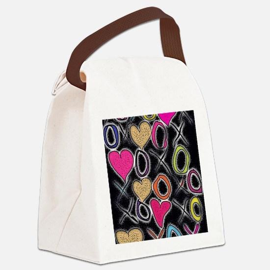 Unique Valentine Canvas Lunch Bag