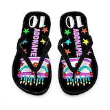 10th birthday girl cup Flip Flops