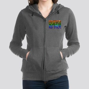 Rainbow Queer as Folk Women's Zip Hoodie