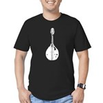 Mandolin Men's Fitted T-Shirt (dark)