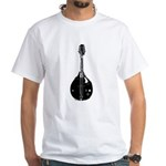 Mandolin White T-Shirt