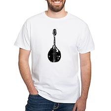 Mandolin White T-Shirt