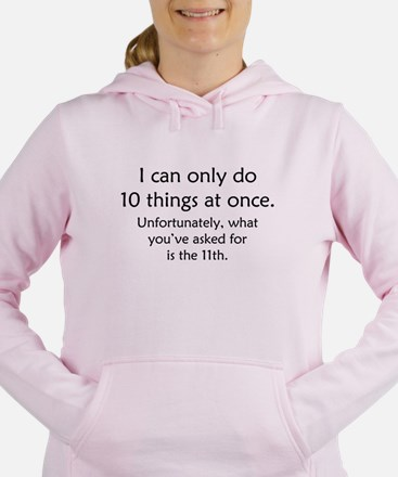 Ten Things At Once Sweatshirt