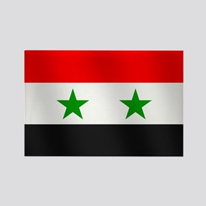 Flag of Syria Rectangle Magnet