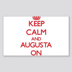 Keep Calm and Augusta ON Sticker