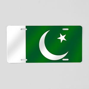 Flag of Pakistan Aluminum License Plate
