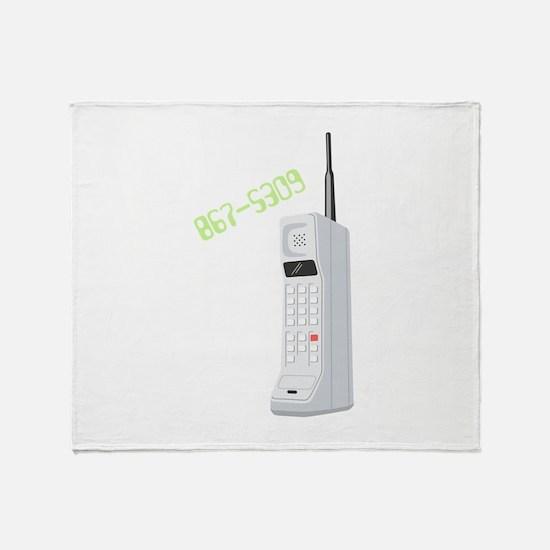 867-5309 Throw Blanket